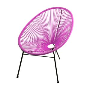 SKASON PULKKO - Acapulco Chair, Design Sessel in pink