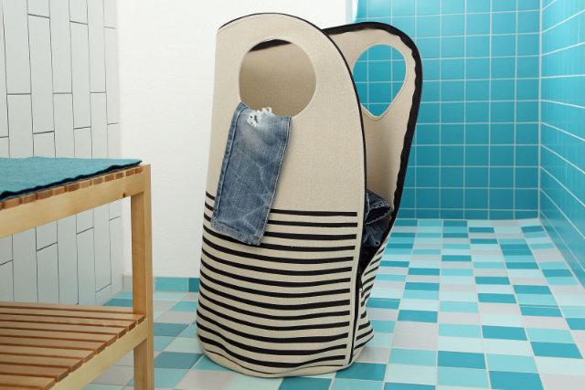 Walkki als Wäschesack